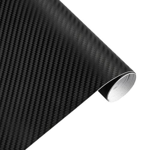 3D Carbon Fiber Matte Vinyl Film Auto Car Sheet Wrap Roll Sticker Decoration US