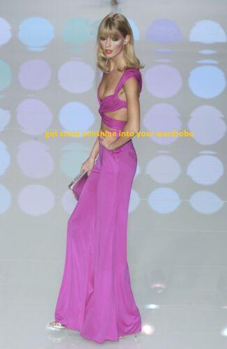 Valentino SS 2004 Raspberry Pink Dress