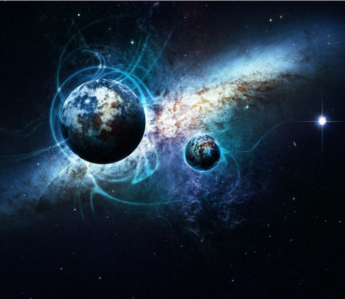 3D Space Planet image 0283 Wall Paper Wall Print Decal Wall Deco AJ WALLPAPER