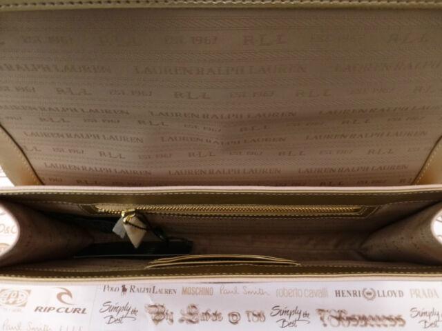 7fbaa0b9d677 Polo Ralph Lauren Evening Bag Envelope Clutch LRG Purse Style Handbag R