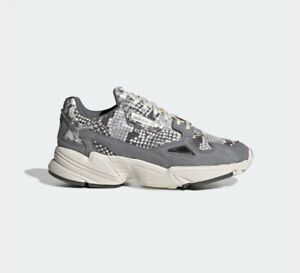 Details zu New Adidas Falcon Snake (EH0192) - Grey, Women's Running Shoes  Trainer Sneaker