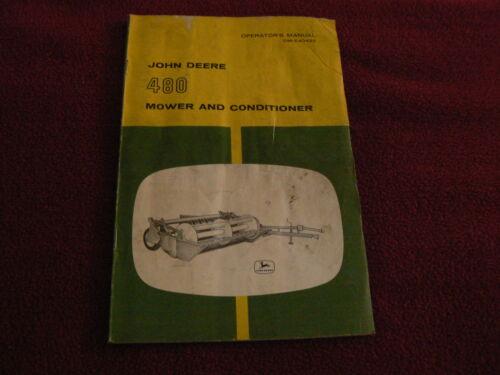 John Deere 480 Mower Conditioner Operator/'s Manual