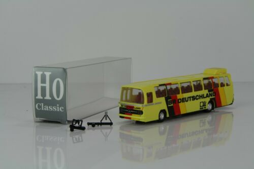 "H0 CLASSIC MERCEDES o302-13 rüh Bus /""BR Deutschland WM 74/""//hc13"