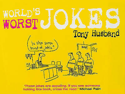 "1 of 1 - ""VERY GOOD"" World's Worst Jokes, Husband, Tony, Book"