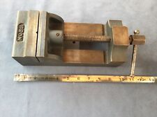Vintage Eron Machinist Drill Press Vise