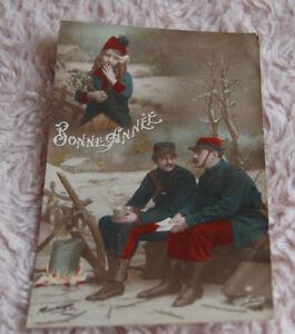 prix carte postale ancienne 14-18 carte postale ancienne   Guerre 14/18   Thème Bonne Année | eBay
