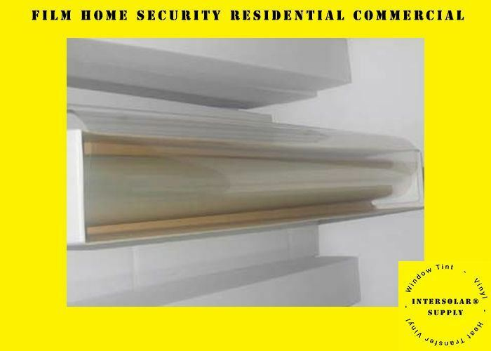 8 MIL Safety Clear Window film home Security Residential Commercial Commercial Commercial 60  x 15 ft caa29a
