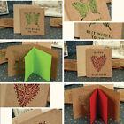 Portable Creative Greeting Cards Postcards Wedding Decoration Wedding Invitation