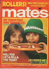 Mates Magazine 3 January 1976     The Bay City Rollers     Sparks     Mud