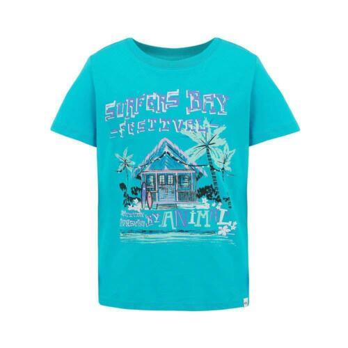 Animal Girls Adelin Tee Bluebird Blue Animal Girls/' Clothing