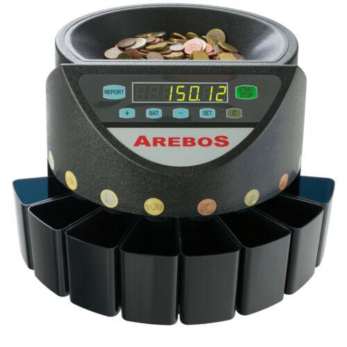 Contador de monedas automàtico clasificador monedas