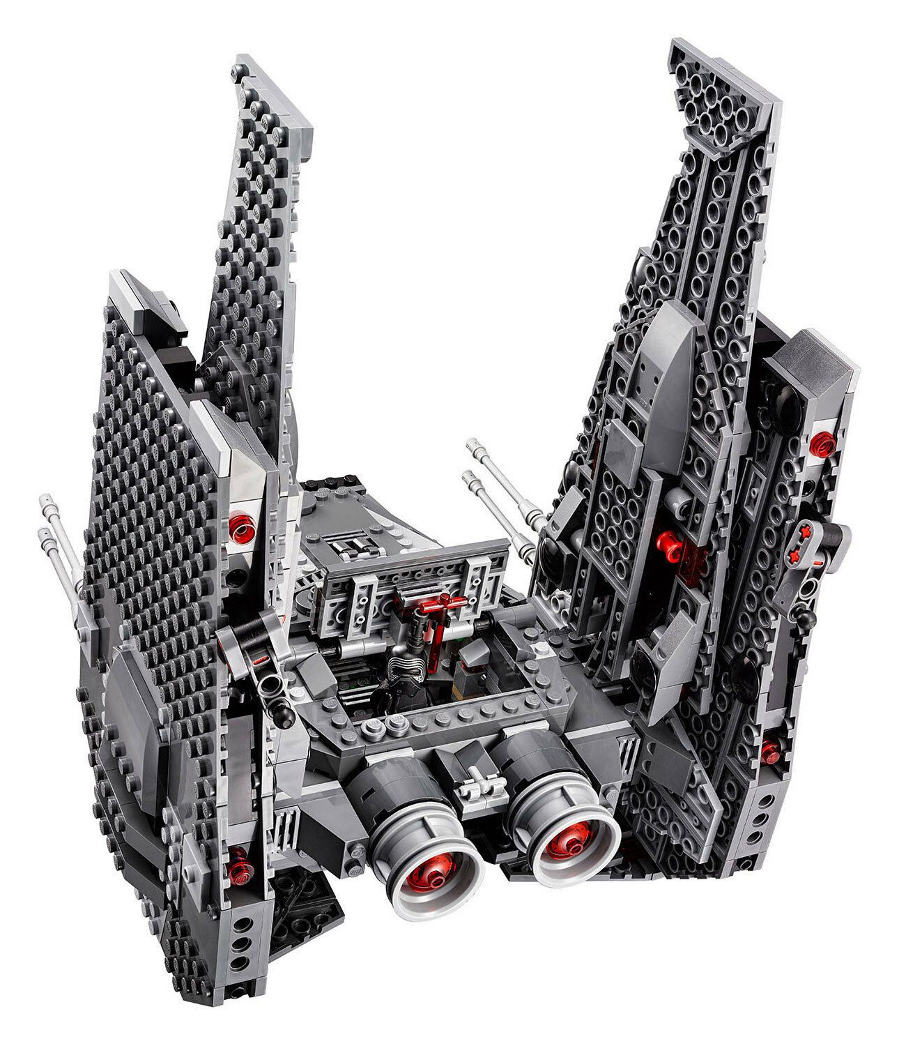 LEGO Star Wars Kylo Ren's Command Shuttle (75104) New - 1005pcs 6 minifigs