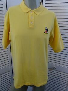 Image is loading Mens-DISNEY-STORE-Mickey-Mouse-Embroidered-Polo-Shirt- b2e1c38f9e5c