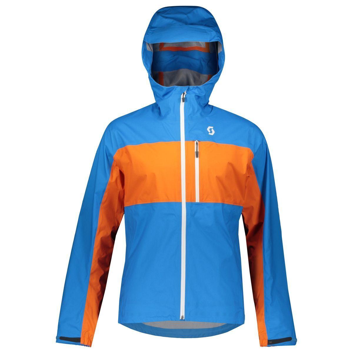Scott Trail MTN Dryo 20 Vélo vent pluie Veste bleu Orange 2019