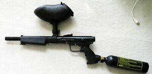 Paintball Gun Combat Zone 25 with Full tank of Gas, Used