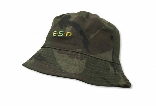 2 SIZES AVAILABLE NEW ESP REVERSIBLE BUCKET HAT OLIVE//CAMO
