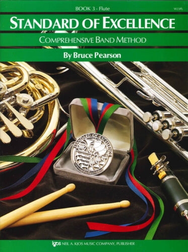 Flute Book 3 Standard of Excellence Band Method Book W23FL