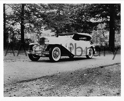 Ref. #39305 Factory Photo 1930 Duesenberg J Murphy swb Dual Cowl Phaeton