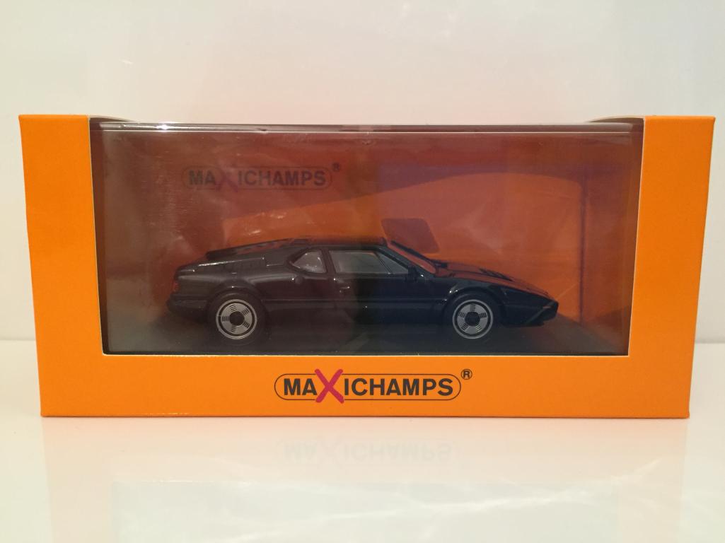 Maxichamps 940025021 BMW M1 1979 Noir Minichamps Nouveau
