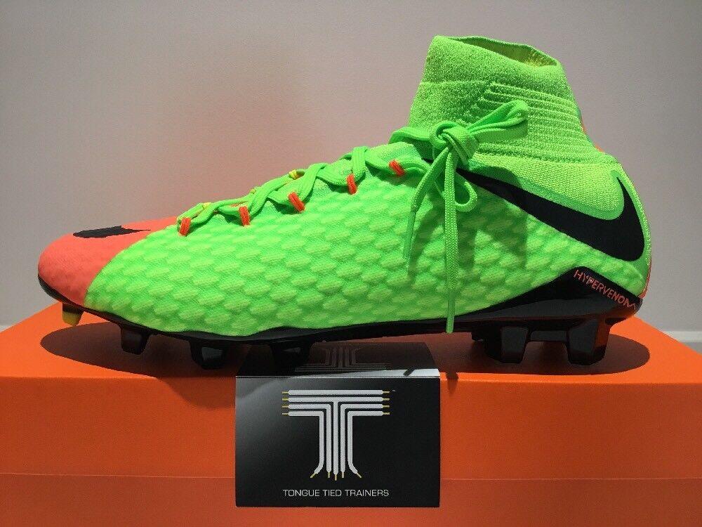 Nike Hypervenom Phatal III DF FG  852554 308  U.K. Größe 9  Euro 44