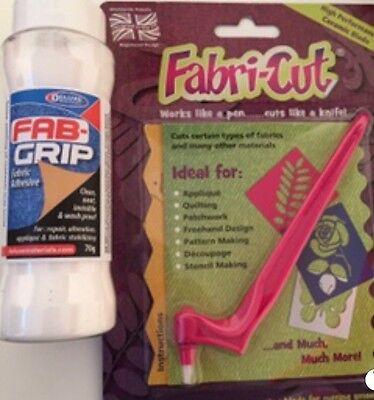 New FABRI-CUT TOOL And 1 Pro Series Fine Detail Fabric Cutting Blade Appliqué