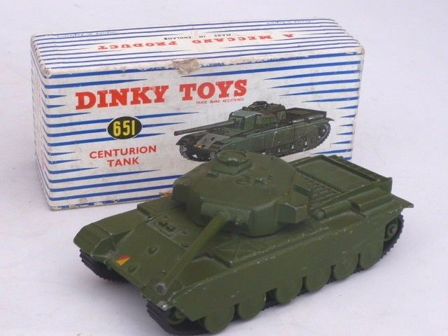 DINKY -  651- CENTURION TANK - VN MINT & BOXED - 1954 TO 1970 VINTAGE