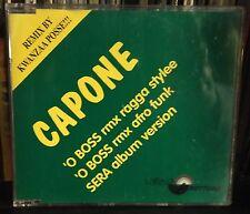 Capone 'O Boss Remix By Kwanza Posse Cd Single Promo VG+/EX+ 1994 3 Tracks Raro