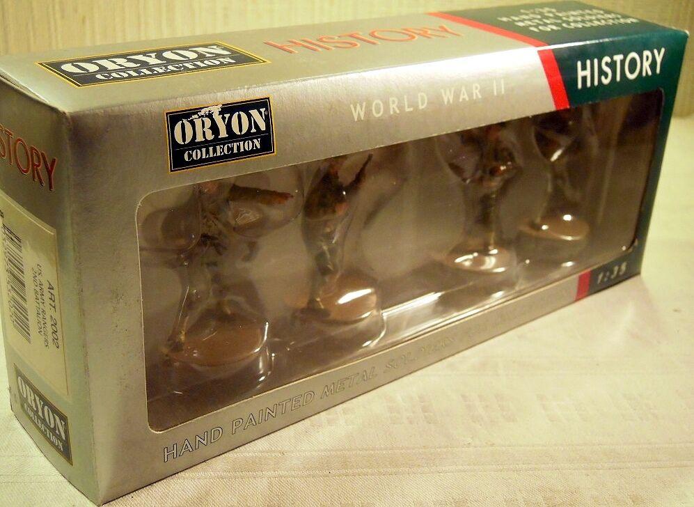 Oryon 2002  US. US. US. Army Rangers - 2nd Battalion , 4 Metallfiguren, N E U & O V P  | Reparieren  13fbfb