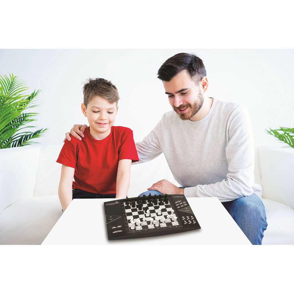 Lexibook Chessman Elite Electronic Chess Game with Touch Sensitive Keyboard