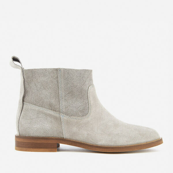 H By Hudson Grey Suede Suede Suede Odina Ankle Slip On Slouch shoes Boots 3 to 7 New 20348e