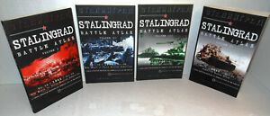 BOOK-Stalingrad-Battle-Atlas-4-Volumes-Complete-2013-2017-Day-by-Day-Maps-op