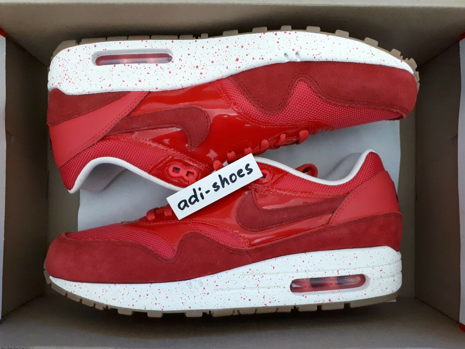 NIKE AIR MAX 1 FUSION ROT/GYM 319986-604 ROT US 6-8 premium 319986-604 ROT/GYM ultra moire 90 lotc 4a6852