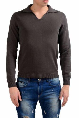 manga para Suéter estilo It Malo hombre 50 Us M oscuro larga polo gris de rxXAqXd0w