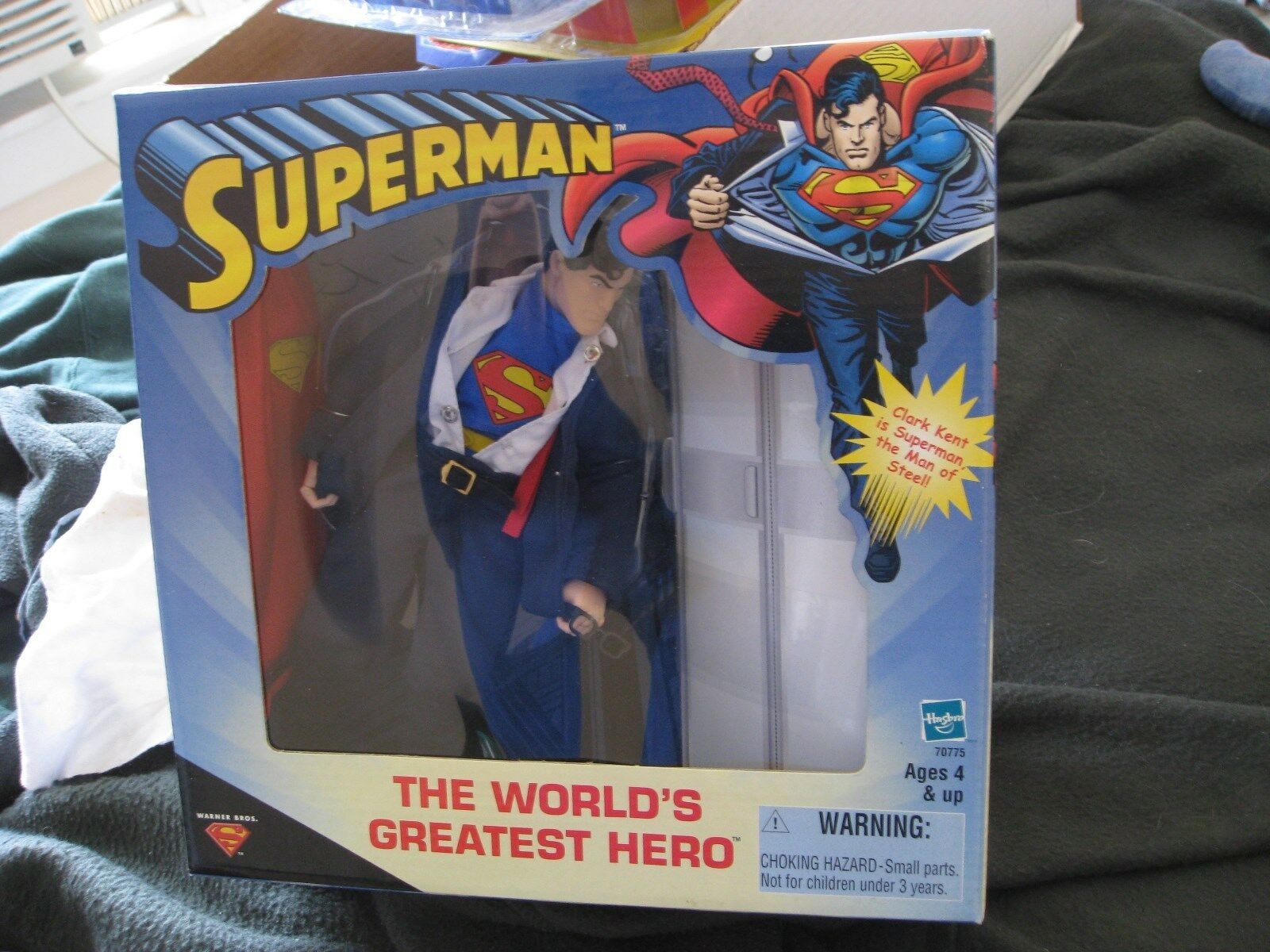 2000 Target Exclusive Superman The World's Greatest Hero New in Sealed Box
