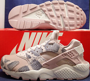 3ac75a93e620 Womens Nike Air Huarache Run Premium Vast Grey Particle Rose SZ 6.5 ...