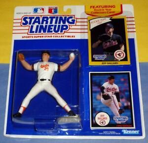 1990 JEFF BALLARD Baltimore Orioles Rookie NM+ * FREE s/h * sole Starting Lineup