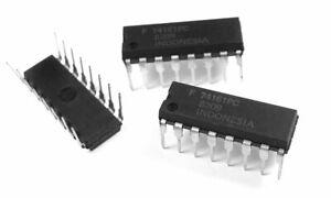 5x SN74161N AMD IC Synchronous 4-Bit Counters 74161PC DM74161N
