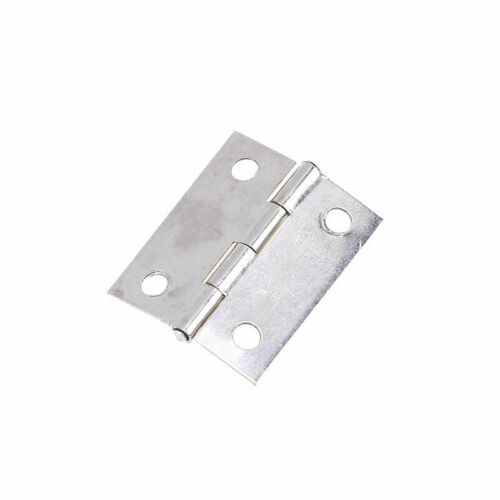 1-100pcs Stainless Steel Small Hinge Jewelry Box Cabinet Hinges Hardware Tools