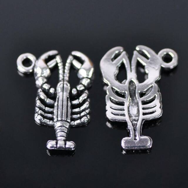 Tibetan Silver Carved Angel Wing Pendant Connector Charm Metal Beads Findings