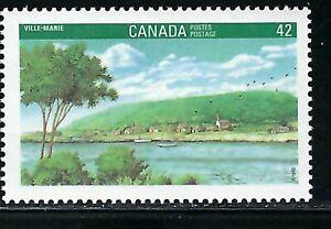 CANADA - SCOTT 1405 - VFNH - CANADA 92 - VILLE-MARIE -1992