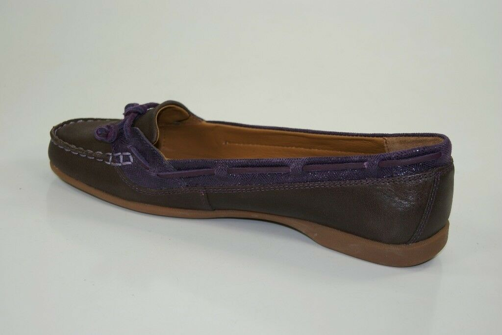 Sebago Loafer Ballerinas Felucca Lace Slipper Loafer Sebago Mocassins Damen Schuhe B668008 NEU 824b1e