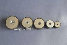 5pcs M8 Male Thread 30*20mm Rubber Anti Vibration Shock Pad without screw