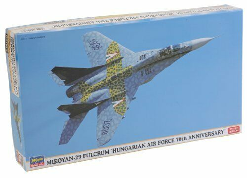 Hasegawa 1 72 Mig-29 Fulcrum Hungarian Air Force the 70th Anniversary Model Kit