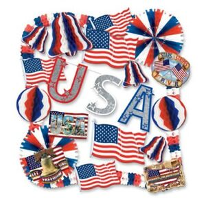 Image Is Loading 4th Of July Party Favors Amp Decorations
