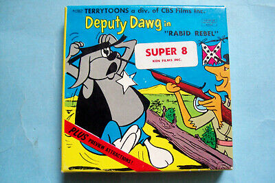 TERRY TOONS Viacom MIGHTY MOUSE HECKLE /& JECKLE DEPUTY DAWG PATCH