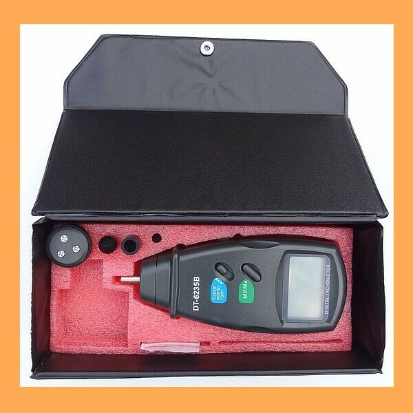 Tachymètre numérique avec et sans contact DT-6236B