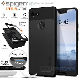 the best attitude 7b5a5 50131 Details about [FREE EXPRESS] Google Pixel 3 XL Case Genuine SPIGEN Thin Fit  360 Slim Hard Case