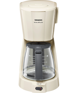 Siemens TC3A0307 Filter-Kaffeemaschine series 300 plus creme