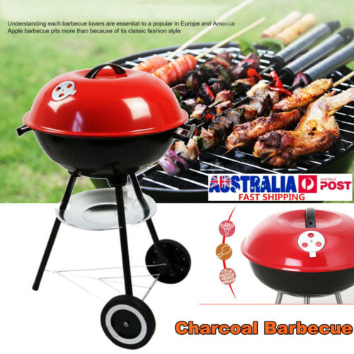 22'' BBQ Charcoal Grill Pit Outdoor Camping Cooker Bars Backyard Barbecue Tool
