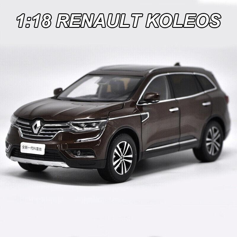 Original Renault Koleos 1 18 Diecast Modelo Coche Colección Juguetes marrón Nuevo en Caja